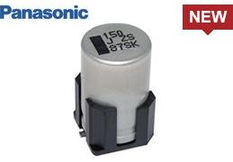 PANASONIC导电性高分子混合铝电解电容器具有高纹波电流。