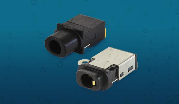CUI防水3.5毫米音頻插孔連接器攜帶IP67等級